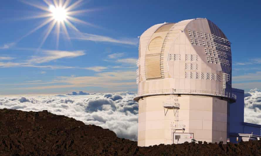 The Daniel K Inouye Solar Telescope in Hawaii.