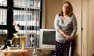 Jacqueline Bell has a chronic lung condition: 'I would love to go to work again and have a normal life but who is going to employ me?'