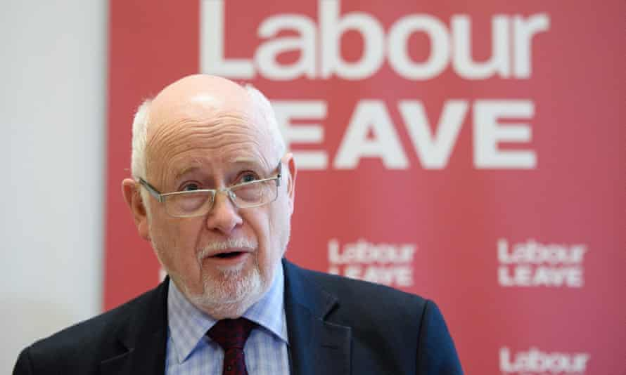 Kelvin Hopkins, speaking at the launch of the Labour Leave campaign in central London on January 20, 2016