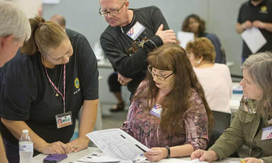 The recount found Republican David Yancey and Democrat Shelly Simonds were tied in the house of delegates election.