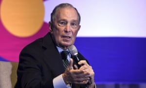 Michael Bloomberg on Cory Booker: 'He's very well spoken; he's got some very good ideas.'
