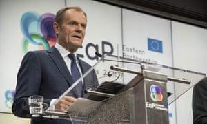 Donald Tusk, the European council president