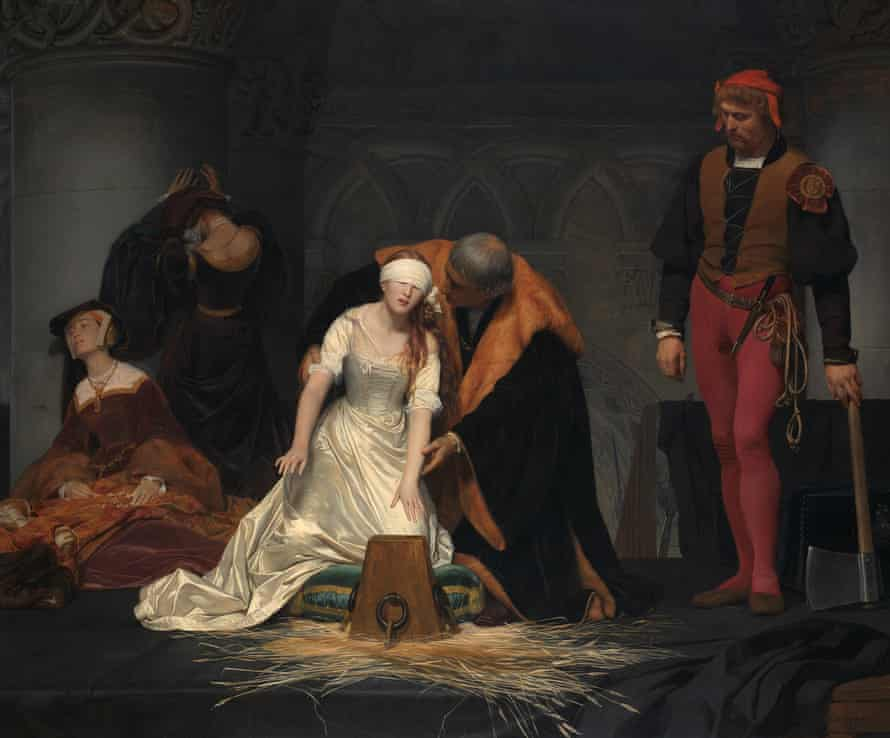 Paul Delaroche, The Execution of Lady Jane Grey, 1833