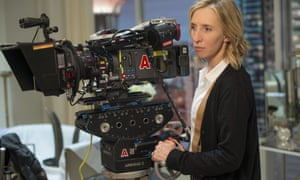 Sam Taylor-Johnson pictured shooting Fifty Shades Of Grey in 2015.