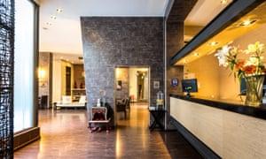 Foyer at Azur Real Hotel, Cordoba, Argentina