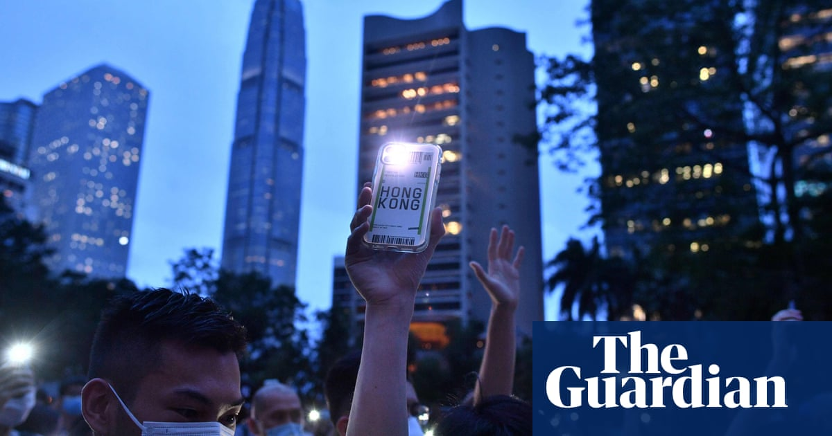 Hong Kong protests: dozens arrested marking first anniversary in defiance of police ban