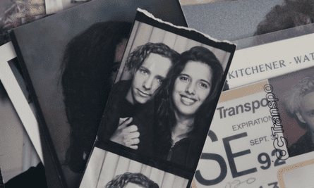 Attiya Khan with Steve, in their late teenage years.