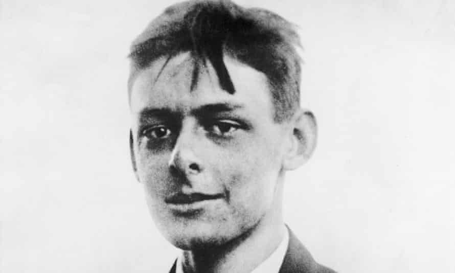 t s eliot as a young man