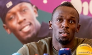 Usain Bolt has said he is 'looking forward' to running at London's Olympic Stadium again. He will compete there in the 200m on 22 July