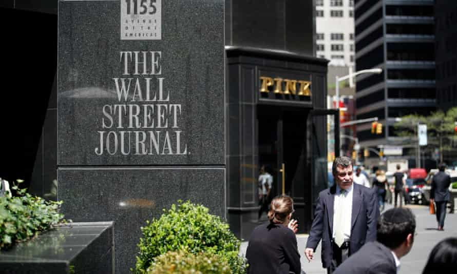 The Wall Street Journal building at 6th Avenue in New York City.