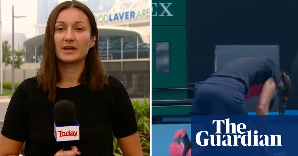 I was really scared: Jakupovic on her collapse because of Australian Open air quality – video