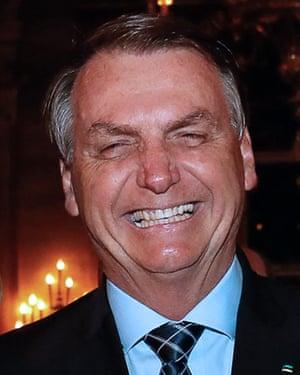 Bolsonaro at Mar-a-Lago.
