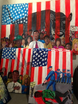 Michelangelo Lovelace's We the People: 'Just because I pledge allegiance doesn't mean I give up my blackness'