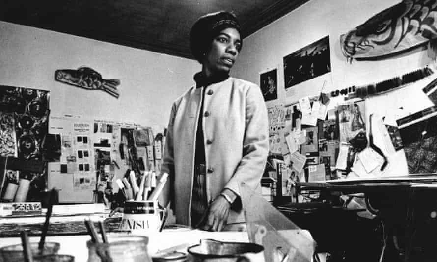 Althea McNish in 1966.