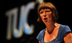 TUC general secretary Frances O'Grady, who is calling for the PM to seek an extension to article 50.