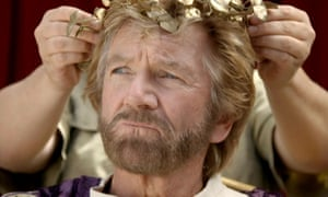 Noel Edmonds makes his entrance on I'm A Celebrity, Get Me Out Of Here