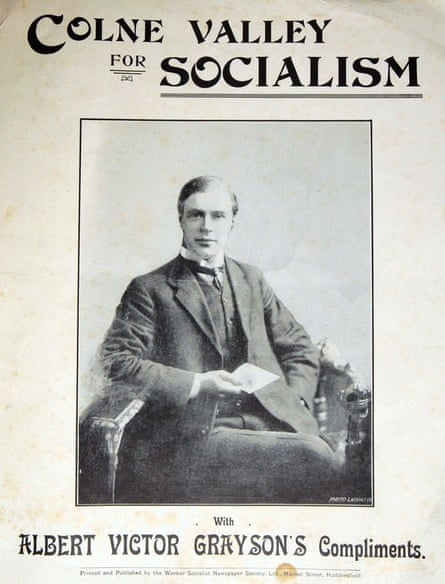 Colne Valley by-election poster from 1907.