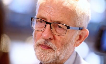 Jeremy Corbyn, the Labour party leader