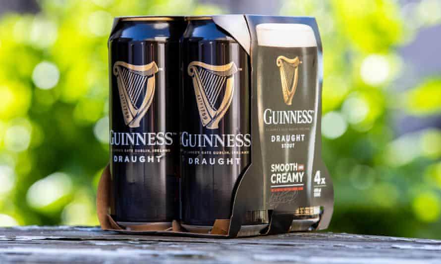 Cans of Guinness