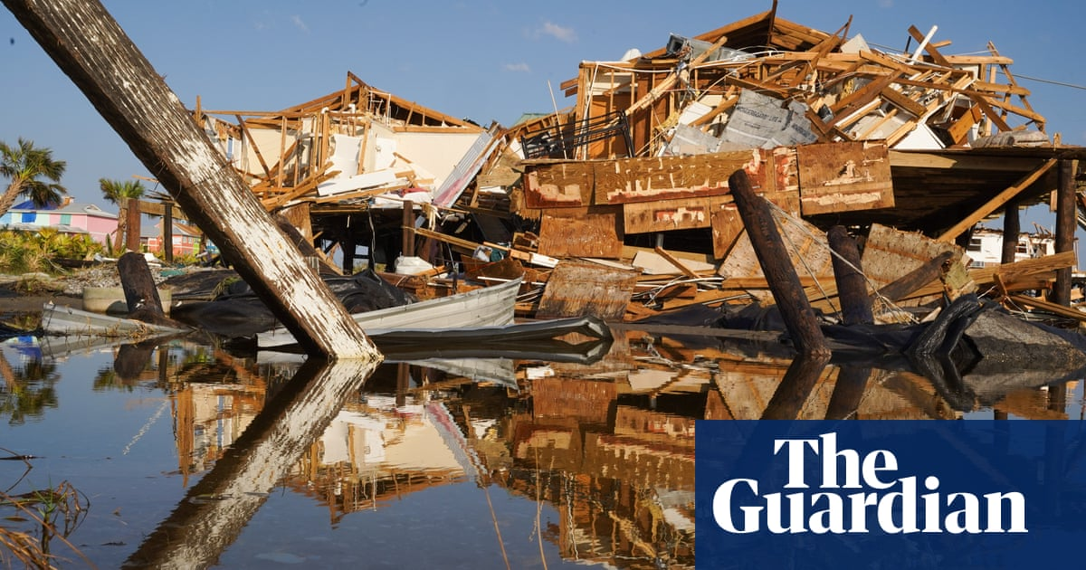 Hurricane Ida: drone footage shows damage in Grand Isle, Louisiana – video