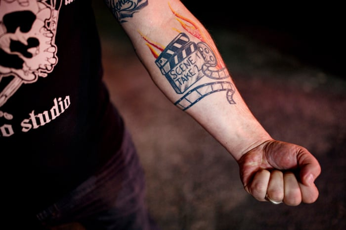 59f26462c Erasing the hate: the tattoo shop offering former white supremacists a  fresh start | US news | The Guardian