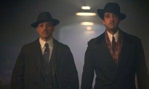 The Italian Job: Matteo (Luca Matteo Zizzari), Luca Changretta (Adrien Brody)