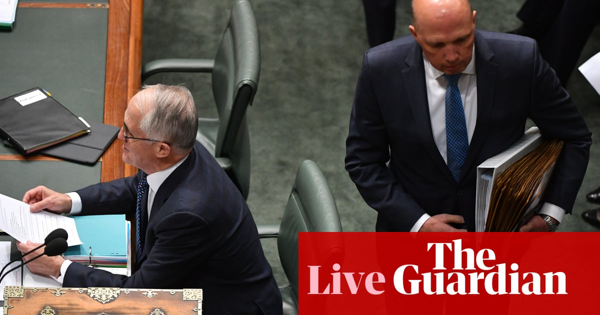 Liberal leadership declared vacant – politics live