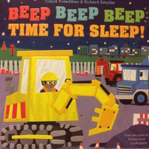 "<a href=""https://bookshop.theguardian.com/catalog/product/view/id/367752/""><strong>Beep Beep Beep Time for Sleep! by Claire Freedman and Richard Smythe </strong></a><br><a href=""https://witness.theguardian.com/assignment/56334050e4b0aceae193b8f8"">Reviewed by Steffi and Mira</a><br>At the start of the story we are introduced to all the big machines on the construction site and what they are doing. At the end of the day the machines are cleaned and tucked in to go to sleep.The illustrations are bright and fun but also show what the machines are actually doing. The book teaches all the words for the construction plant which as a civil engineer I thought was excellent. A brilliant book."
