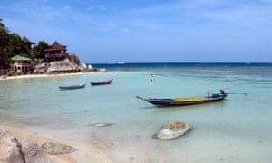 Freedom Bay, Koh Tao, Thailand.