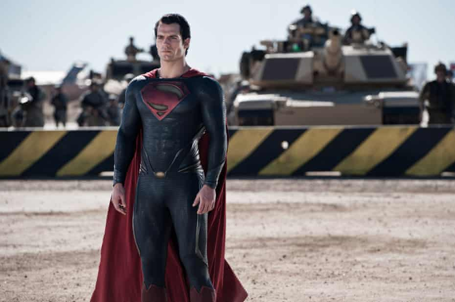 Henry Cavill in Man of Steel.