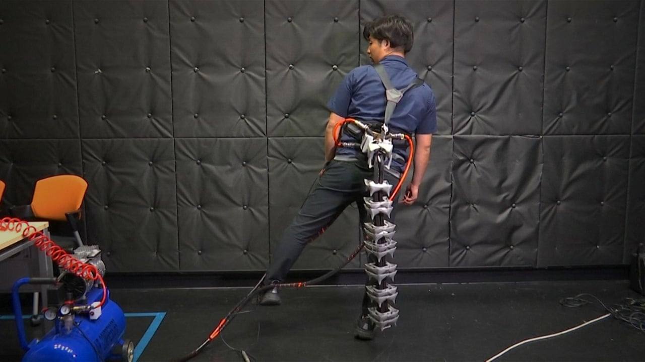 Risultati immagini per robotic tail japan