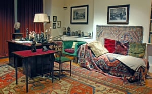 Sigmund Freud's couch in London. Do we pay sufficient attention to our dreams?