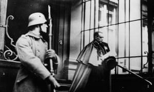 Pope Pius XII in Berlin in 1927.