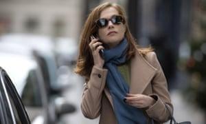 Isabelle Huppert in Paul Verhoeven's 2016 arthouse hit Elle, available on Netflix.