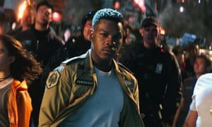 John Boyega in Pacific Rim: Uprising.