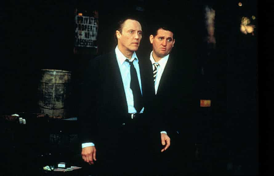 Christopher Walken and Chris Penn in The Funeral.