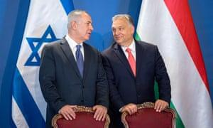 Benjamin Netanyahu and Viktor Orbán