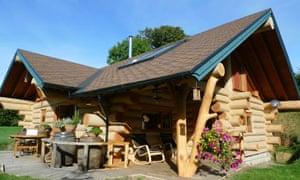 Annie's cabin, near Ludlow, Shropshire.