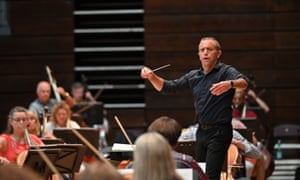 Mark Wigglesworth conducts the Proms festival orchestra on 8 September at the Royal Albert Hall. All Proms are live on BBC Radio 3 and available until 10 October to listen again on BBC Sounds.