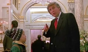 Donald Trump had a short cameo in Home Alone 2, but the Canadian national broadcaster said it cut it out to save time, prompting a backlash from Trump supporters.