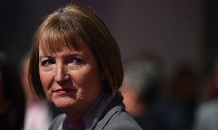 Labour MP Harriet Harman warned against alienating Muslim communities.