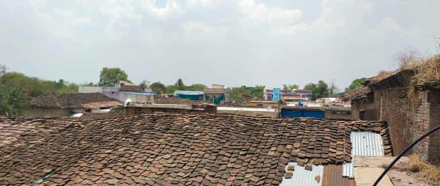 View of village Madhi Chaubisa where Gopal Singh lives