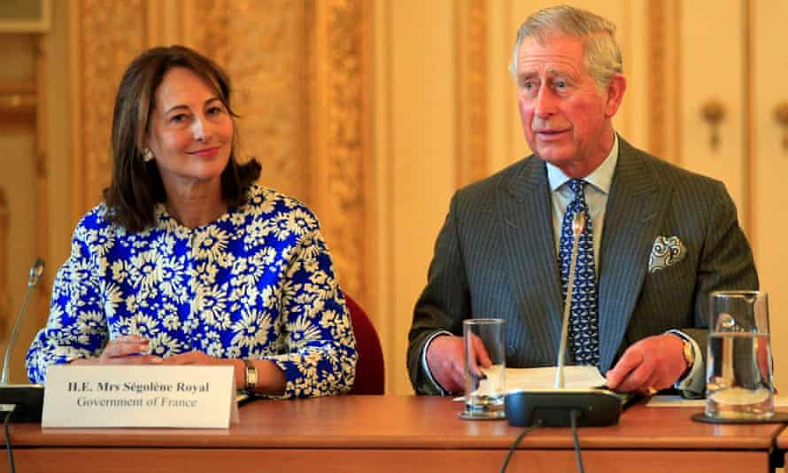 The Prince of Wales (right) and French environment minister Ségolène Royal (left) attend a meeting on forests and climate change at Lancaster House in London, ahead of the upcoming COP21 United Nations climate summit in Paris.
