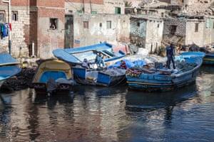 Fishing boats at El Max