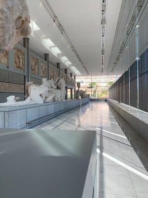 Acropolis Museum, Athens Greece, September 2020