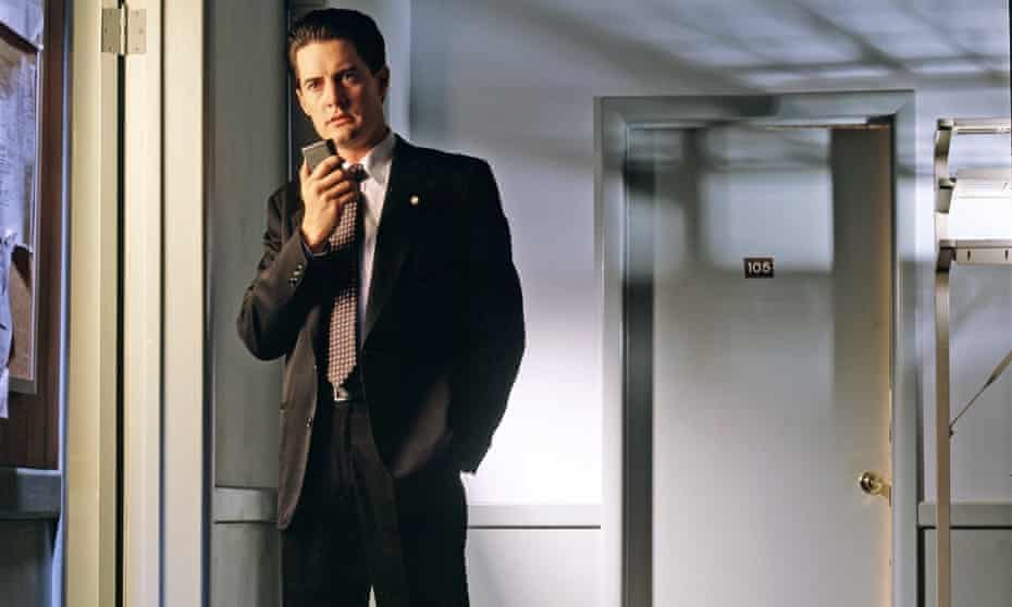 Kyle MacLachlan as Agent Dale Cooper. Twin Peaks was nothing like we'd ever seen on television.