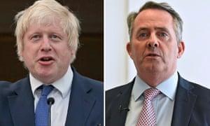 Liam Fox and Boris Johnson