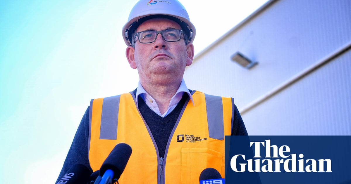 'Fit and well': Daniel Andrews marks his return by slamming 'vile' injury rumours