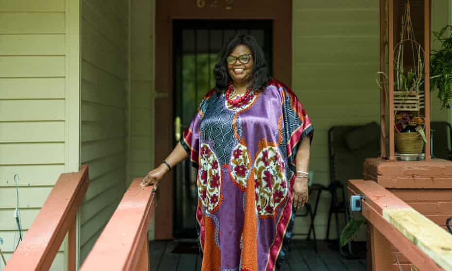 Rutha Mae Harris, one of the Freedom Singers, at her home in Georgia.