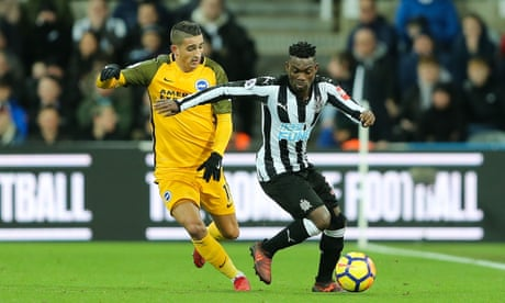 Anthony Knockaert the only spark in Newcastle and Brighton's gloomy draw